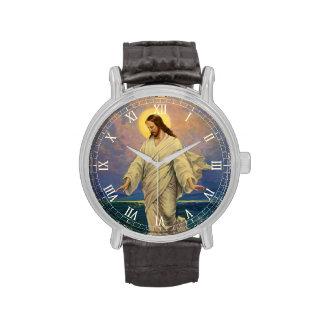 Religión del vintage, Jesús que camina en el Relojes De Mano