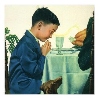Religión del vintage niño que dice la tolerancia comunicado