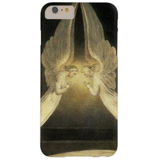 Religión del vintage, retrato de los ángeles que funda de iPhone 6 plus barely there