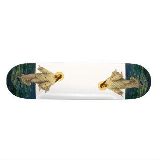 Religión del vintage retrato del Jesucristo Tablas De Skate