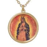 Religión del vintage, señora de Guadalupe, Virgen  Collar
