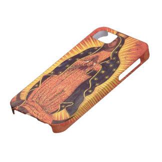 Religión del vintage señora de Guadalupe Virgen iPhone 5 Cárcasas