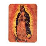 Religión del vintage, señora de Guadalupe, Virgen  Iman De Vinilo