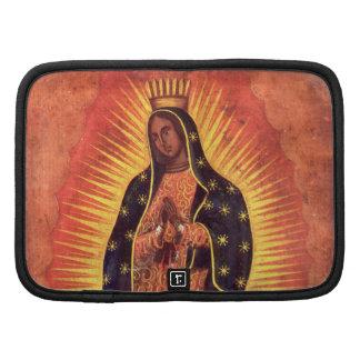 Religión del vintage, señora de Guadalupe, Virgen Organizador