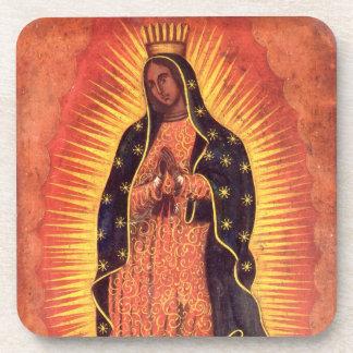Religión del vintage, señora de Guadalupe, Virgen Posavasos De Bebida