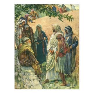 Religión del vintage, trabajando en el Sabat, capt Tarjetas Postales