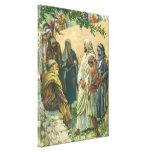 Religión del vintage, trabajando en el Sabat, Impresión En Lienzo Estirada