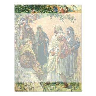 Religión del vintage, trabajando en el Sabat, Membrete Personalizado
