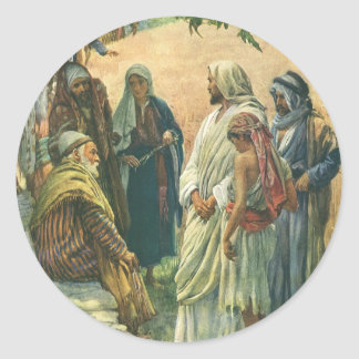 Religión del vintage, trabajando en el Sabat, Pegatinas Redondas