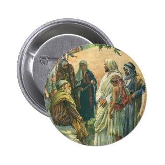 Religión del vintage, trabajando en el Sabat, Pin Redondo 5 Cm