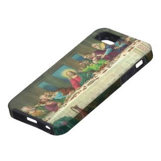 Religión del vintage, última cena con Jesucristo iPhone 5 Case-Mate Protector
