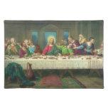 Religión del vintage, última cena con Jesucristo Manteles