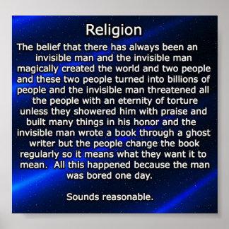 religion explained poster