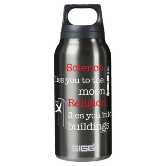 Religion Flies You Into Buildings Insulated Water Bottle