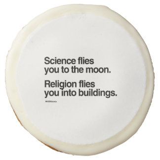 Religion flies you into buildings sugar cookie