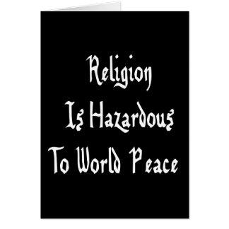 Religion Hazard Card