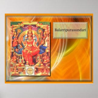 Religión, Hinduism, deidad hindú Póster