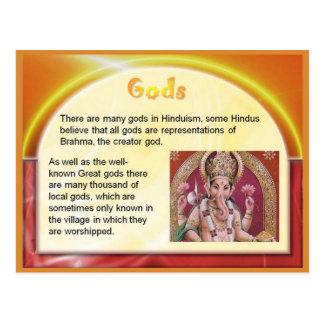 Religión, Hinduism, la India, dioses hindúes Postales