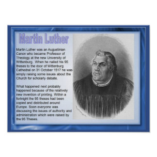Religión historia reforma Martin Luther Impresiones