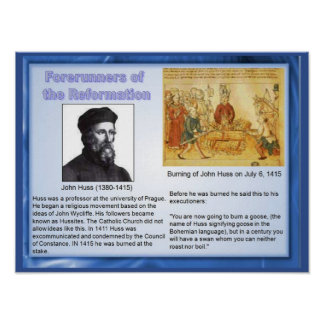 Religion, History, Foreunners of reformation Poster