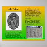 "Religion, History Reformation ""John Calvin"" Posters"