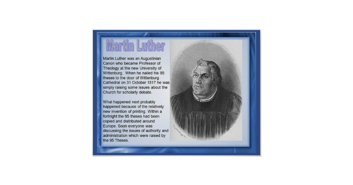 a summary of luthers view of religion The protestant reformation and martin luther religion essay  you can view samples of our professional  thanks to his institutes of the christian religion,.