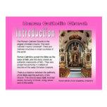 Religión, iglesia católica romana, introducción tarjetas postales