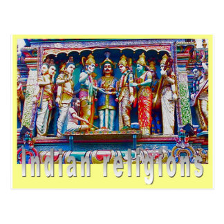 Religion, Indian religions Post Cards