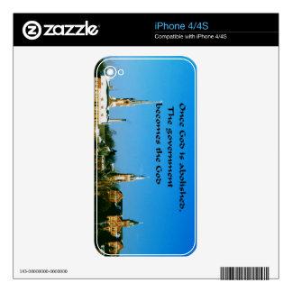 Religion iPhone 4 Decal
