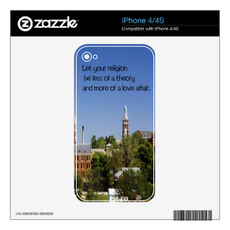 Religion iPhone 4S Skins