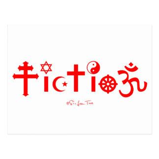 Religion is Fiction Postcard