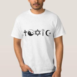Religion Is Toxic Freethinker Tee Shirt