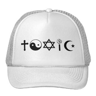 Religion Is Toxic Freethinker Trucker Hat