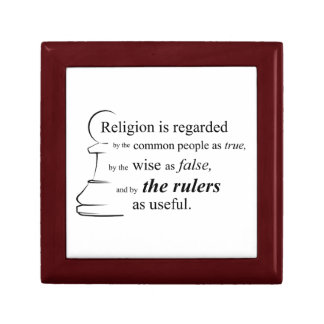 Religion is useful jewelry box