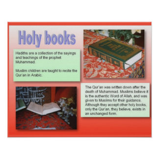 Religion,Islam, holy books Poster