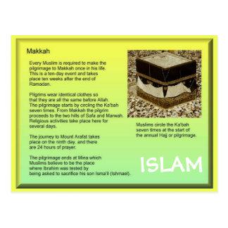Religion, Islam, Makkah Postcard