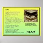 Religión, Islam, Makkah Póster