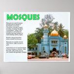 Religión, Islam, mezquitas Poster