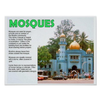 Religion, Islam, Mosques Posters