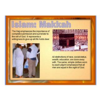 Religion, Islam, pilgrimage, Haj, Makkah Postcard