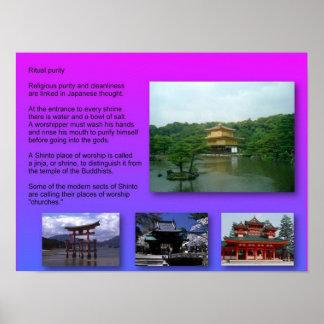 Religion, Japan, Shinto, Ritual purity Poster