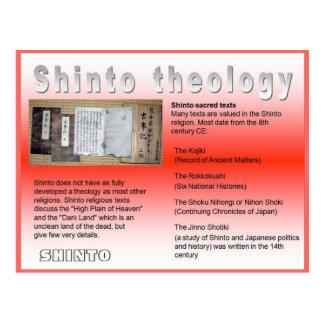 Religión, Japón, teología sintoísta Tarjetas Postales