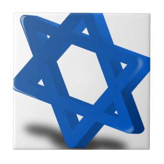 religión judía del día de fiesta de Jánuca Teja Ceramica