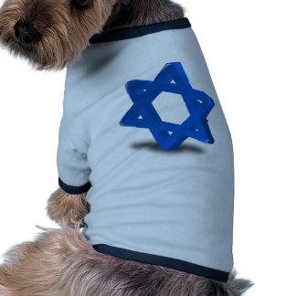 religión judía del día de fiesta de Jánuca Camisas De Mascota