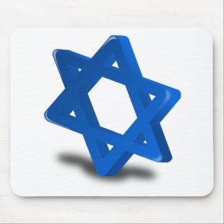 religión judía del día de fiesta de Jánuca Alfombrillas De Raton