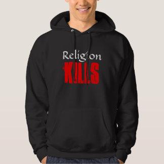 RELIGION KILLS BLACK HOODIE