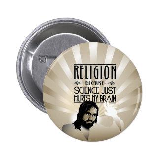 Religión. La ciencia daña mi cerebro Pins