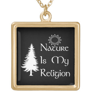 Religión natural colgante cuadrado