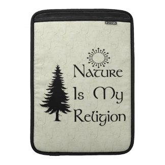 Religión natural fundas MacBook