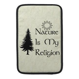 Religión natural fundas macbook air
